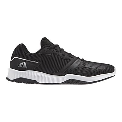 adidas Men's Gym Warrior 2 Training Shoes - Black/White