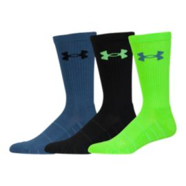 Under Armour Elevated Performance Men's Crew Socks 3-Pack