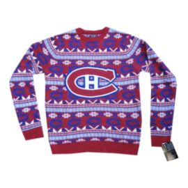 Montreal Canadiens Big Logo 2.0 Ugly Sweater
