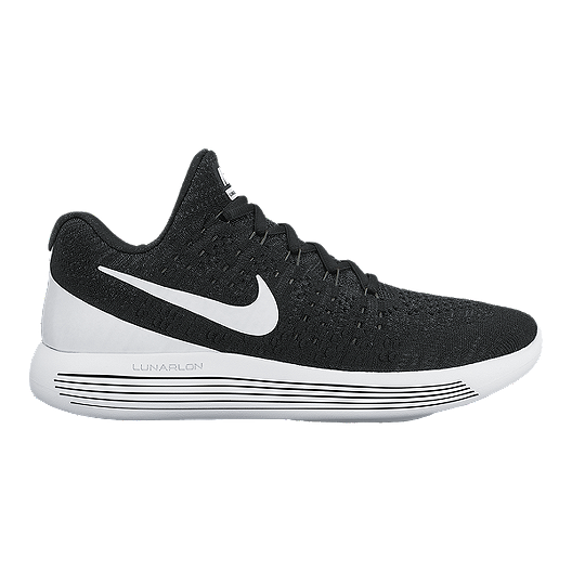 5f33a6fab86617 Nike Women s LunarEpic FlyKnit 2 Running Shoes - Black White