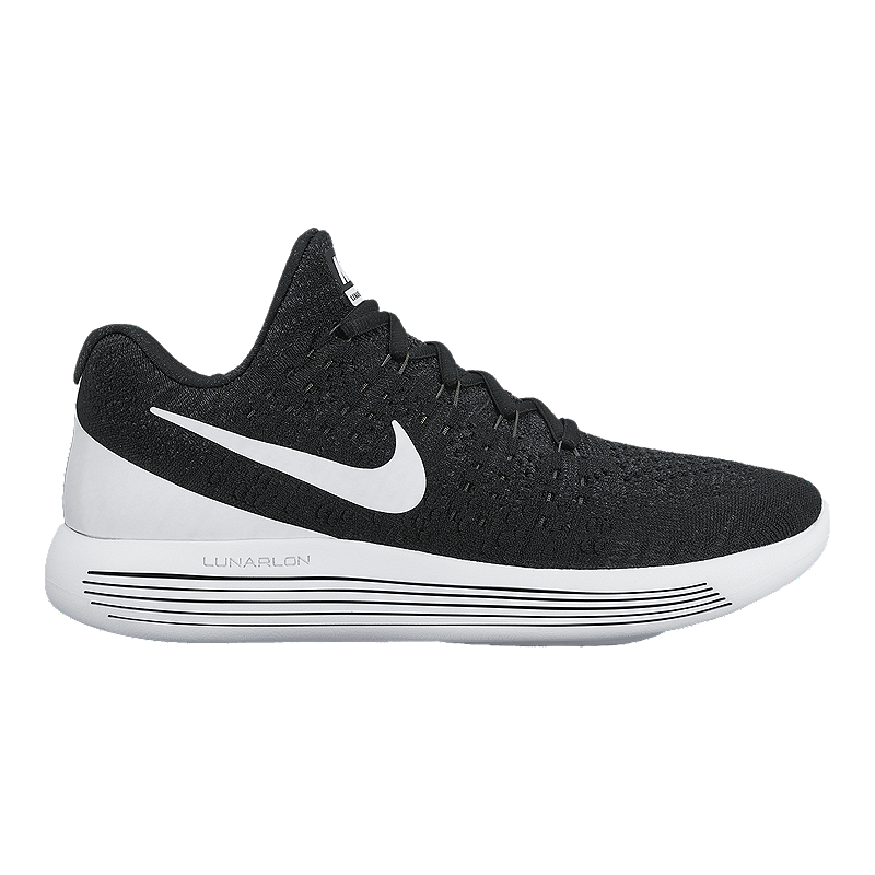 purchase cheap a339b 09f72 Nike Women s LunarEpic FlyKnit 2 Running Shoes - Black White   Sport Chek