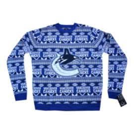 Vancouver Canucks Big Logo 2.0 Ugly Sweater