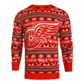Red Wings Big Logo 2.0 Ugly Sweater