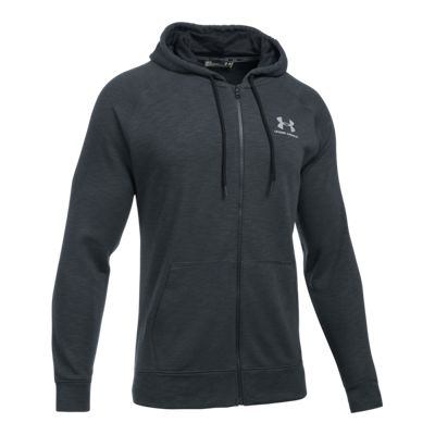 Under Armour Men's Sportstyle Full Zip Triblend Hoodie