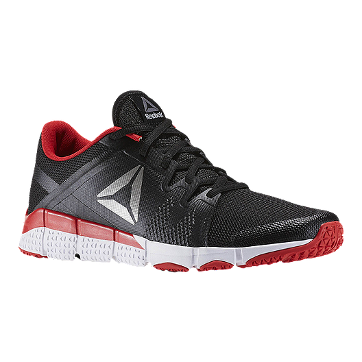 5eb49cc53 Reebok Men s TrainFlex Training Shoes - Black White Red
