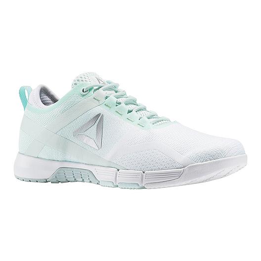 653d3bfdb2b8 Reebok Women s CrossFit Grace Training Shoes - White Mint Green