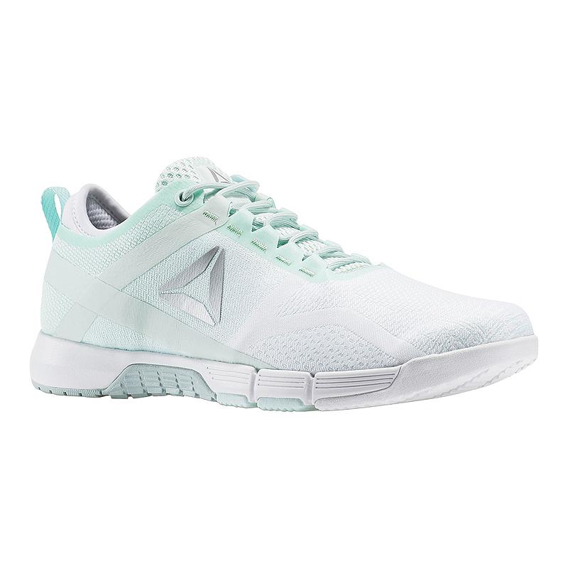 cfff2290969178 Reebok Women s CrossFit Grace Training Shoes - White Mint Green ...