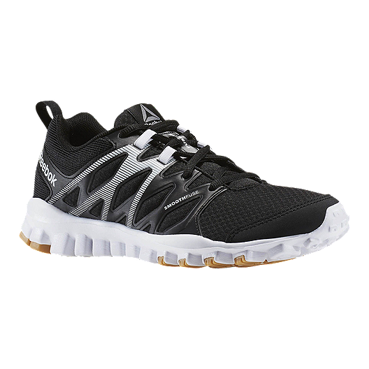 8f9c21503a78 Reebok Women's RealFlex Train 4.0 Training Shoes - Black/White | Sport Chek