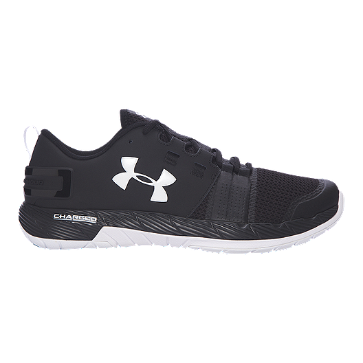 new style a5606 67354 Under Armour Men's Commit TR Training Shoes - Black/White