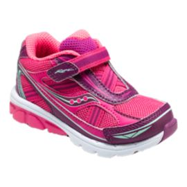Saucony Toddler Baby Ride Running Shoes - Pink/Purple
