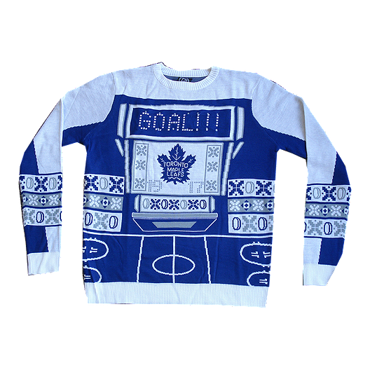 ed16350a988 Toronto Maple Leafs Light Up Ugly Sweater