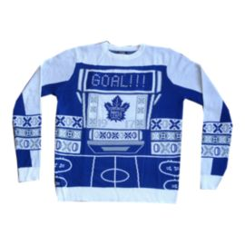 Toronto Maple Leafs Light Up Ugly Sweater