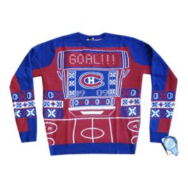 Montreal Canadiens Light Up Ugly Sweater