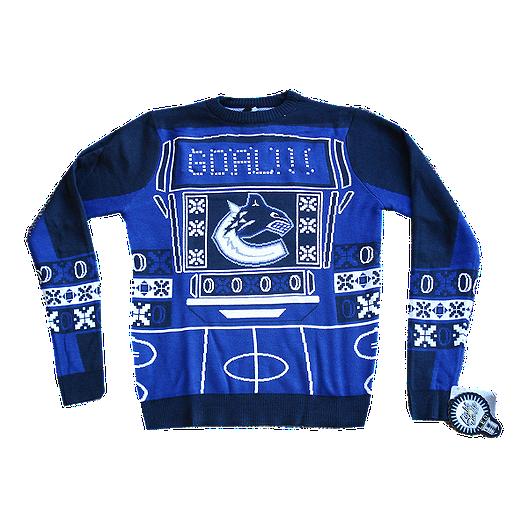 big sale 32a60 43021 Vancouver Canucks Light Up Ugly Sweater | Sport Chek