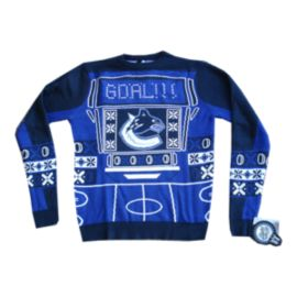 Vancouver Canucks Light Up Ugly Sweater
