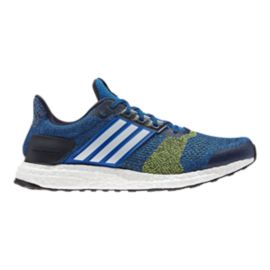 adidas Men's Ultra Boost ST Running Shoes - Blue/White
