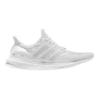 adidas Women's Ultra Boost Running Shoes - White