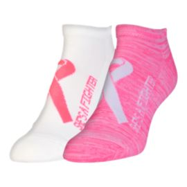 Under Armour Power In Pink 2.0 Women's No Show Socks 2-Pack