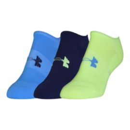 Under Armour Athletic Solo No Show Women's Socks 3-Pack