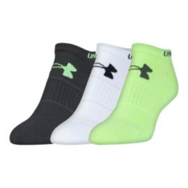 Under Armour Elevated Performance Women's No Show Socks - 3-Pack