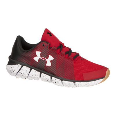 Under Armour Kids' X Level ScramJet Grade School Running Shoes - Red/Black/White
