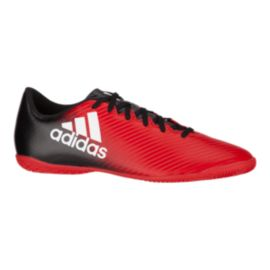 adidas Men's X 16.4 IN Indoor Soccer Shoes- Red/Black/White