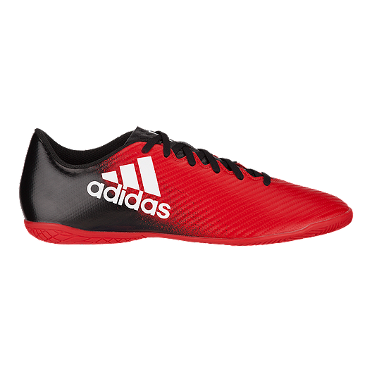 1f61df3a994c adidas Men s X 16.4 IN Indoor Soccer Shoes- Red Black White. (0). View  Description