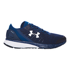 Under Armour Men's Charged Bandit 2 Running Shoes - Heather Navy Blue/Blue