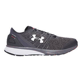 Under Armour Men's Charged Bandit 2 Running Shoes - Heather Black