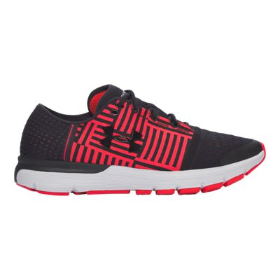 Under Armour Men's SpeedForm® Gemini 3 Running Shoes - Black/Red Pattern