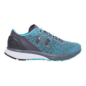 Under Armour Women's Charged Bandit 2 Running Shoes - Heather Teal Blue/Grey