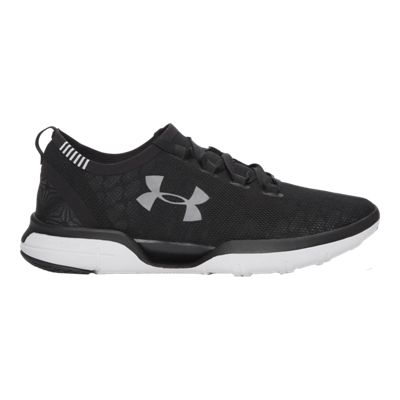 Under Armour Women's Charged CoolSwitch RN Running Shoes - Black/White