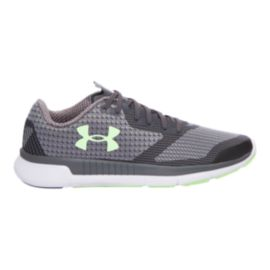 Under Armour Women's Charged Lightning Running Shoes - Grey Pattern/Mint Green