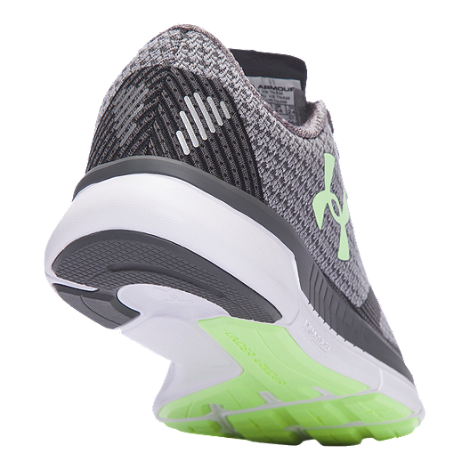 reputable site db8c6 5be28 Under Armour Women's Charged Lightning Running Shoes - Grey Pattern/Mint  Green