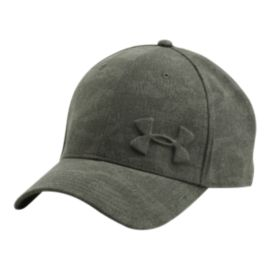 Under Armour Men's Tonal Chambray Stretch Fit Hat