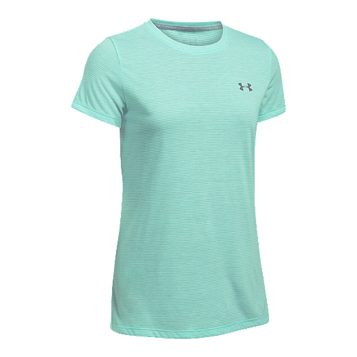 1f0bf422 Under Armour Women's Threadborne™ Siro Stripe Crew Short Sleeve ...