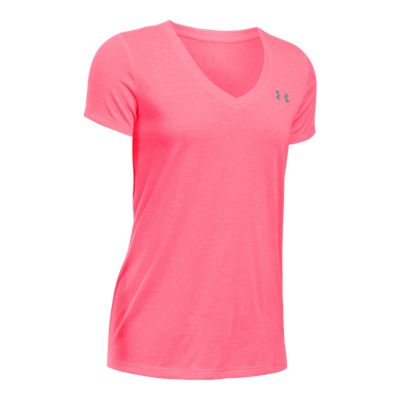 Under Armour Women's Tech Threadborne™ Siro Twist V-Neck Short Sleeve Shirt