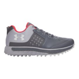 Under Armour Women's Horizon STR Hiking Shoes - Grey/Orange