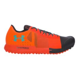 Under Armour Men's Horizon KTV Hiking Shoes - Orange/Black/Green