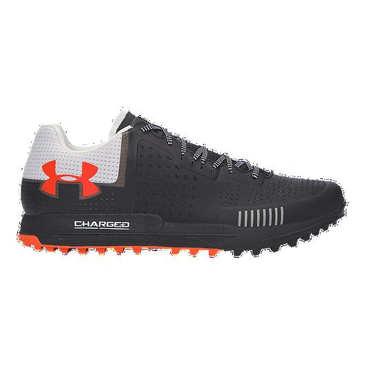 5bb4b59604 Under Armour Men s Horizon RTT Trail Running Shoes - Black Grey Orange