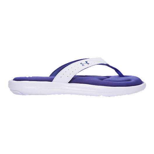 10a75593f Under Armour Women s Marbella V Thong Sandals - White