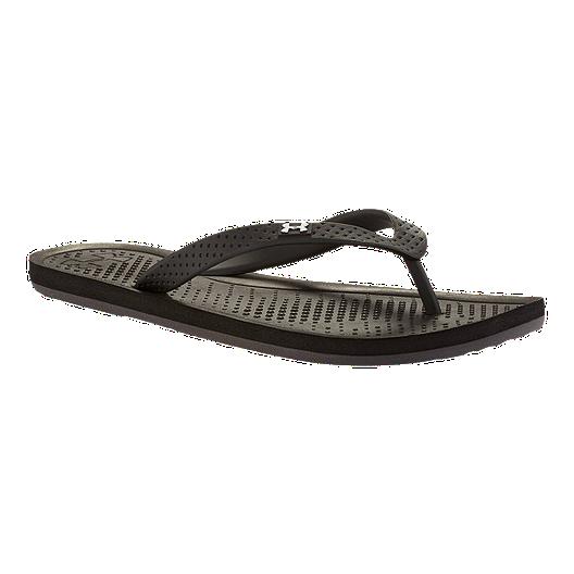 c2a89005de7 Under Armour Women s Atlantic Dune Thong Sandals - Black