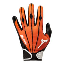 Mizuno Vintage Pro Adult Batting Glove - Orange