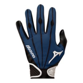 Mizuno Vintage Pro Adult Batting Glove - Navy Blue