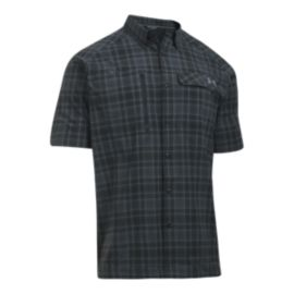 Under Armour Men's Fish Hunter Short Sleeve Plaid Shirt