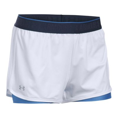 Under Armour Women's Armour HeatGear 2 In 1 Shorty Shorts