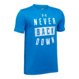 Under Armour Boys' Never Back Down T Shirt