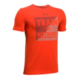 Under Armour Boys' Train Or Nothing T Shirt