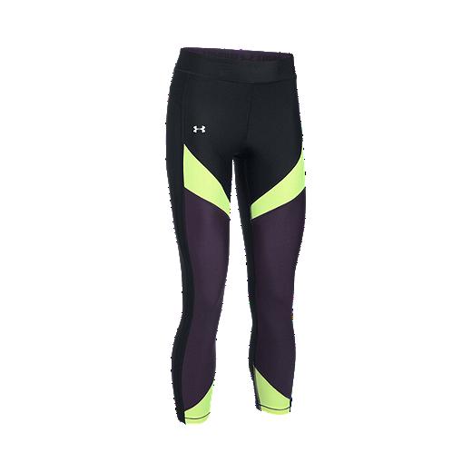 360cdc995f Under Armour Women's HeatGear® Armour Colorblock Crop Tights - 002  BLACK/MOONLIGHT