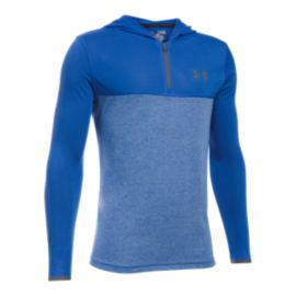 Under Armour Boys' Threadborne™ Siro 1/4 Zip Hooded Shirt